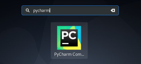 Launch PyCharm on Debian