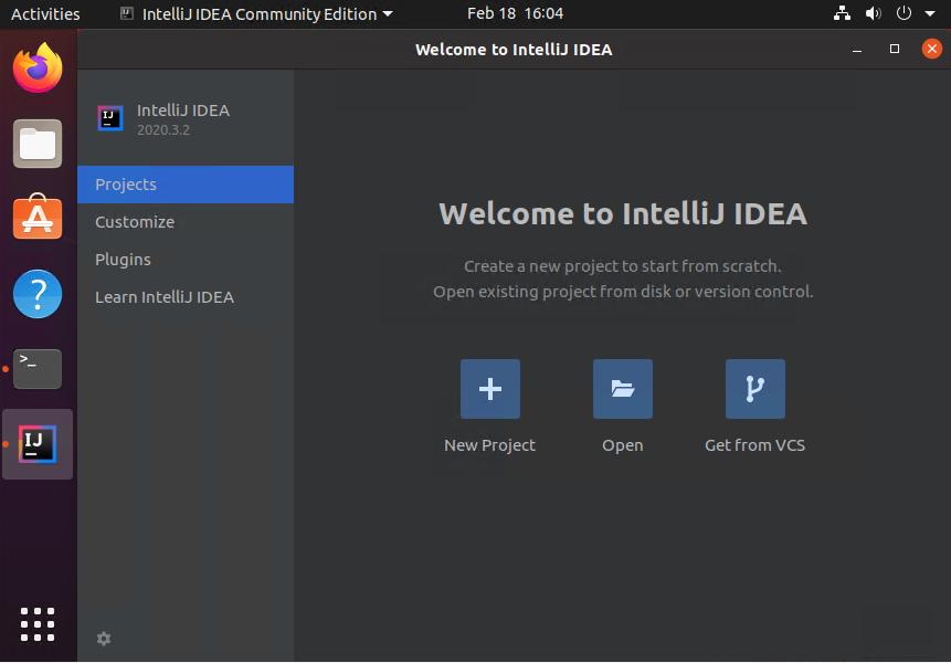 Installing Intellij on Ubuntu 20.04