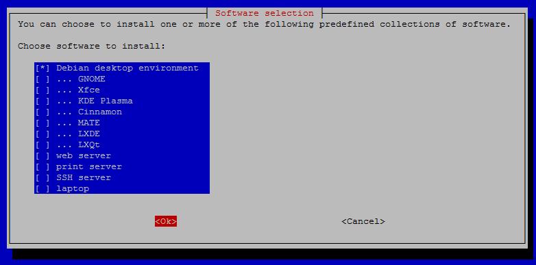 Installing Desktop on Debian 10