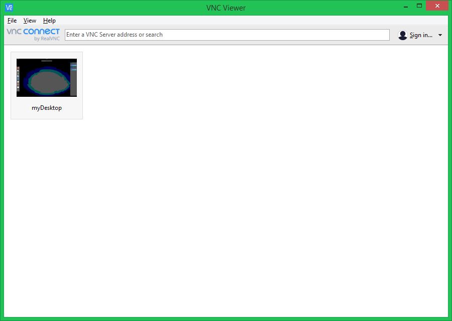 List of VNC servers