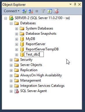 Rename SQL Server Database