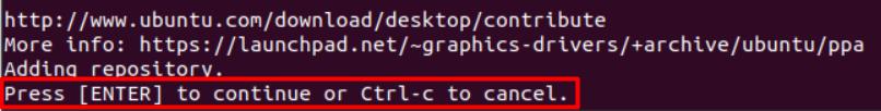 Confirm Add Nvidia PPA on Ubuntu 20.04