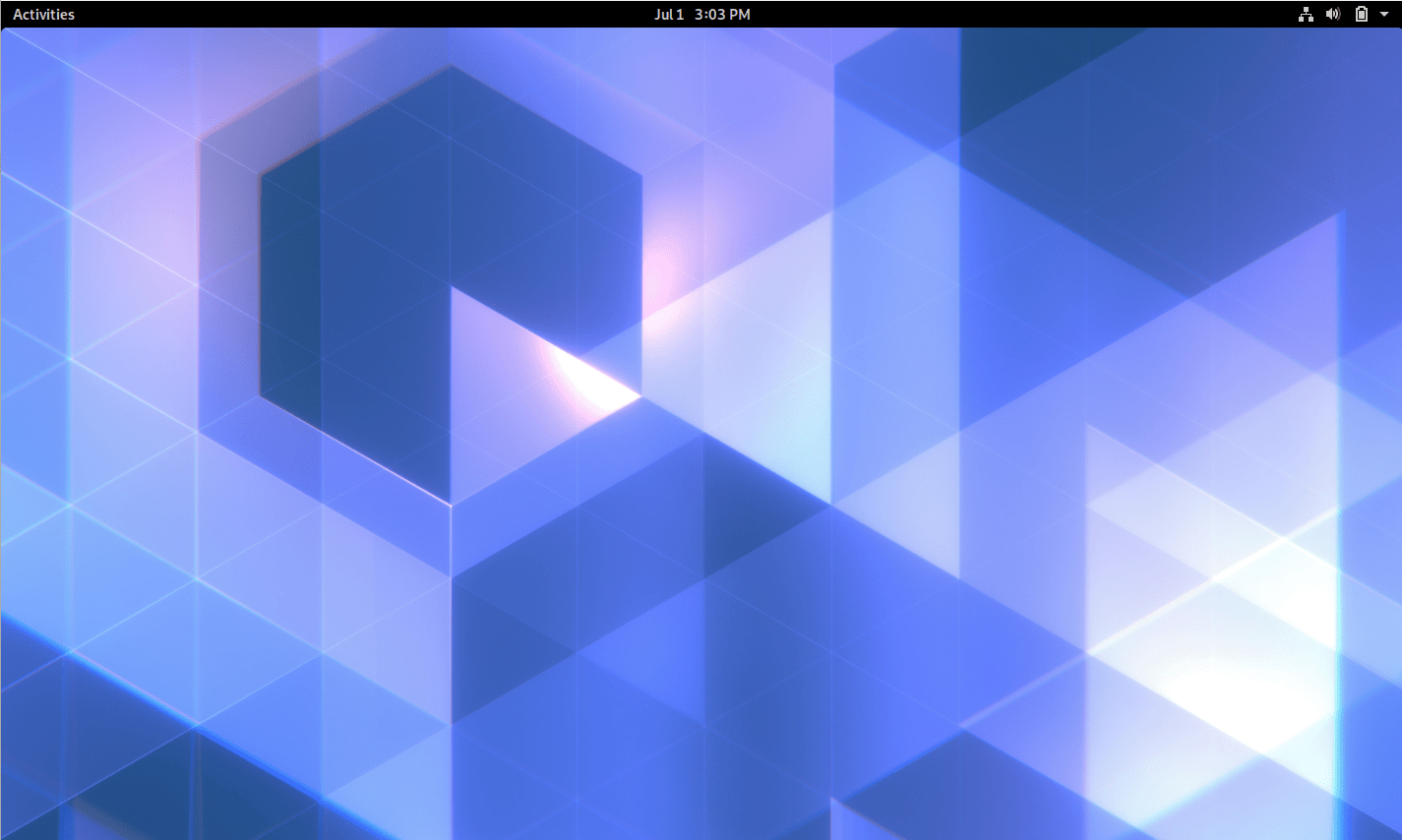 Log In to New Desktop in Ubuntu