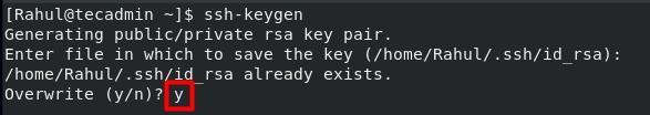 Create SSH Keys 3