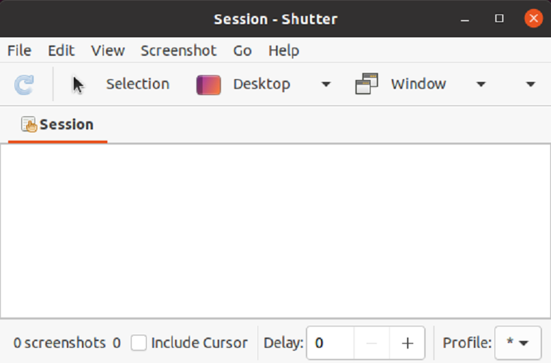 Shutter - Screen Capture Tool for Linux