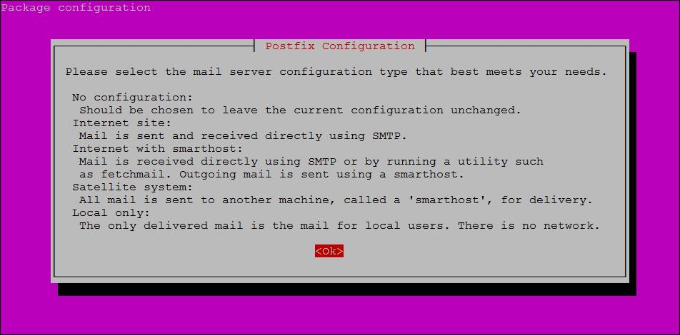 Step 3 - Installing Postfix on Ubuntu 20.04